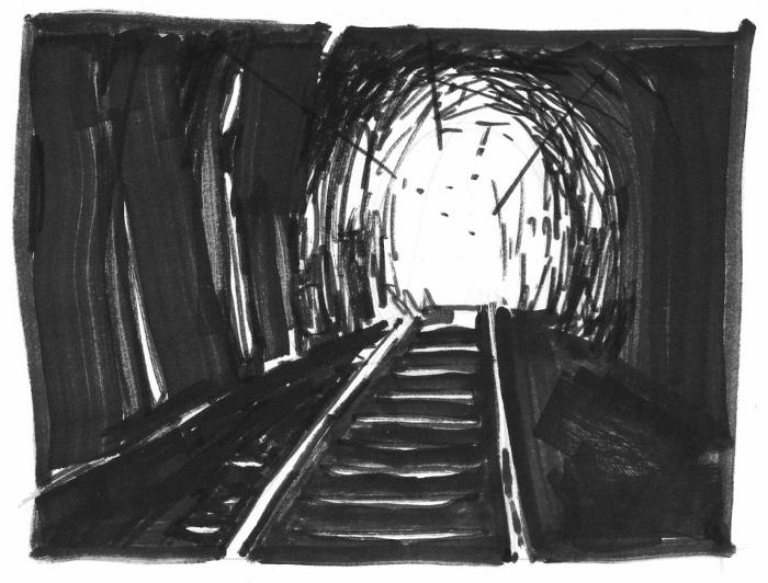 El tren, el túnel, el paisaje y The Economist - ColaBoraBora